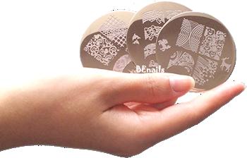 BEnails指甲彩繪轉印鋼板DIY出多變化的美甲