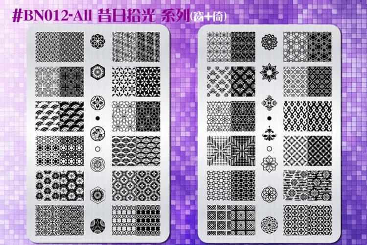 (大方版鋼板)BN012-All 昔日拾光系列優惠組合(窗+倚)