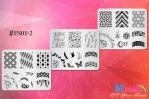 BEnails美甲印花指彩轉印鋼板(FS01-2星語-Earth)指甲彩繪圖樣