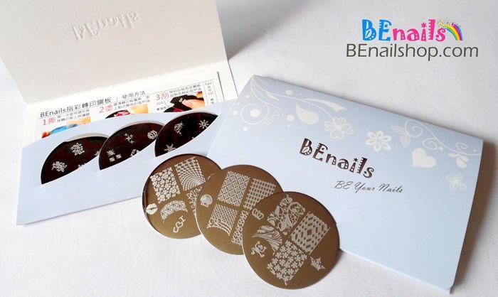 BEnails指甲彩繪轉印鋼板,精緻包裝非常適合做為生日禮物、情人節禮物、聖誕禮物!