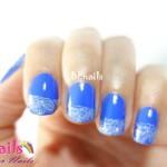 BEnails印花美甲指甲彩繪轉印鋼板(BN003_微笑之門)彩繪範例3