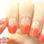 BEnails美甲印花指甲彩繪轉印鋼板(SC003_煙花)彩繪範例1
