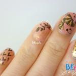 BEnails印花美甲指甲彩繪轉印鋼板(BN006夏祭微風)美甲DIY教學範例-讓日式的扇子搧走夏日的炎熱吧 - 指甲彩繪造型!