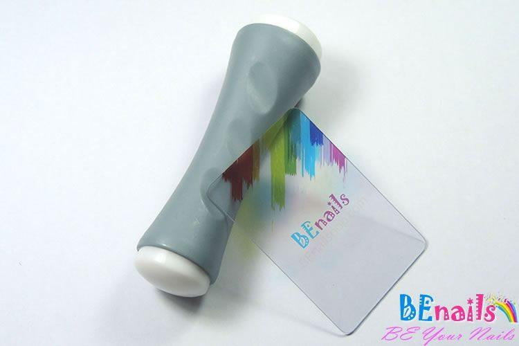 BEnails印花美甲DIY轉印工具組─TN002雙向轉印章-附送透明刮板
