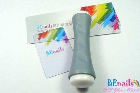 BEnails印花美甲DIY轉印工具組─TN002雙向轉印章-附送透明刮板+3張轉印章清潔貼