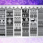 BEnails印花轉印美甲-(大方版)BN015 小裁縫-圍巾小舖