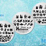 BEnails印花轉印美甲-SC014萬聖派對-指甲彩繪轉印鋼板
