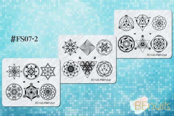BEnails轉印美甲-FS07-2 幾何未來- J星球