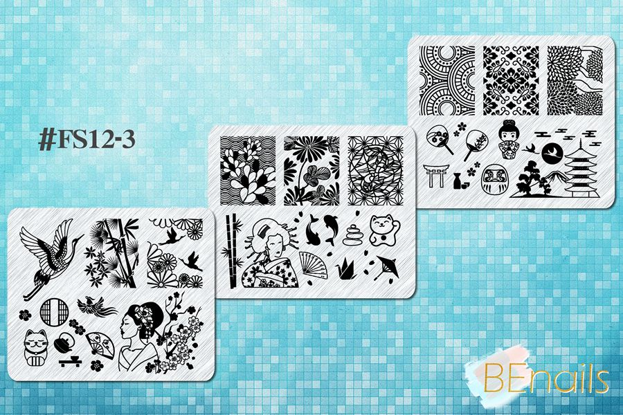 BEnails_(小方版)FS12-3環遊世界-漫遊江戶