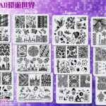 BEnails轉印美甲-_(小方版鋼板)FS12-All環遊世界-英俄日印優惠組合