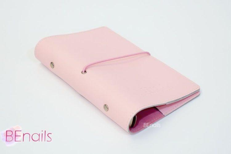 BEnails轉印美甲-(粉)轉印鋼板收納本,附6入獨家設計專用活頁BEnails_loose_leaf_notebook_pink_02