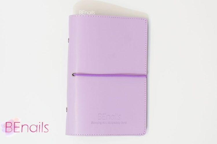 BEnails轉印美甲-(紫)轉印鋼板收納本,附6入獨家設計專用活頁BEnails_loose_leaf_notebook_purple_03