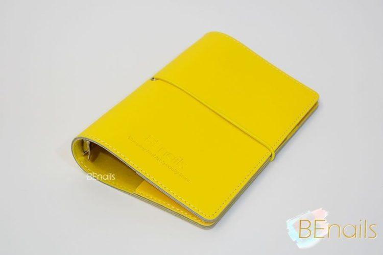 BEnails轉印美甲-(黃)轉印鋼板收納本,附6入獨家設計專用活頁BEnails_loose_leaf_notebook_yellow_04